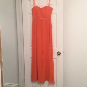 BCBG Orange Dress
